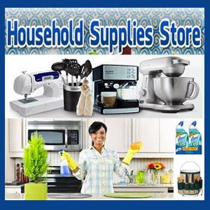 Get All Household Supplies You Need!