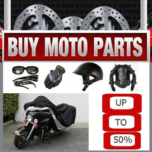 Here you can find thousands of moto parts.